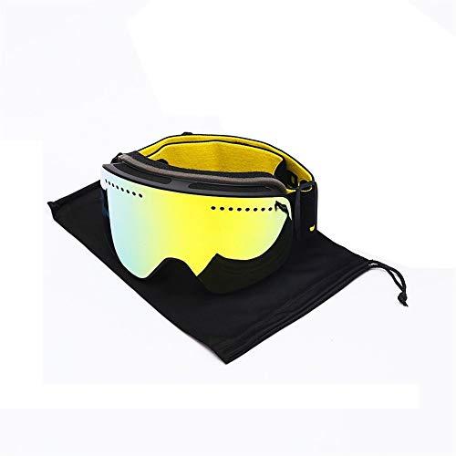 Skibril Magneet Ski Goggles Merk Winter Sneeuw Sport Snowboard Goggles Anti-mist UV Bescherming Sneeuwscooter Sferische Skiën Masker