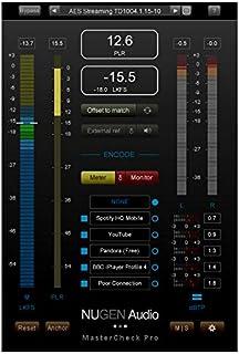 Nugen Audio ヌジェンオーディオ ラウドネス・マネージメント・ソフト MasterCheck Pro