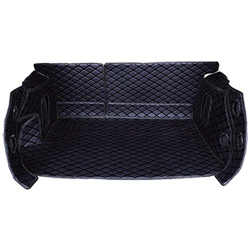 XHULIWQ Car Trunk Mat, For jeep Wrangler Renegade Compass Cherokee Patriot, Custom Leather Boot Mat Interior Accessories