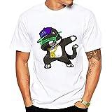 Miwaimao Camisetas de dibujos animados Hip-hop Rap SKR Verano Moda Movimiento Transpirable Cuello...