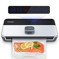 CalmDo Envasadora al Vacío Automático para Alimentos, CD-V001 6 en 1 Sellador...