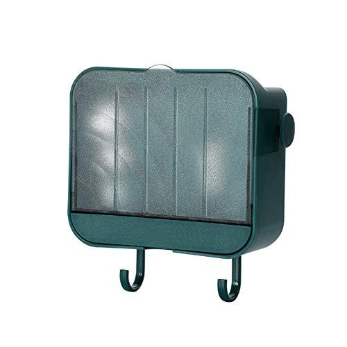 Xingying Estantería para baño o ducha, montaje en pared, soporte para jabón, con soporte para teléfono