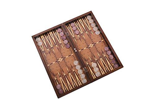 Master Games-T72 Elegance Backgammon-Tavla-Big Size 50,5cmx25,5cmx8,00cm