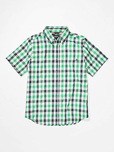 Marmot Herren Kingswest Short Sleeve Hemd, Kelly Green, M