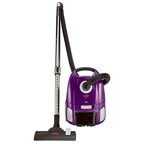 Product Image of the BISSELL Zing Lightweight, Bagged Canister Vacuum, Purple, 2154A