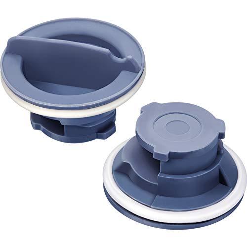 2 Pack 8558307 Dispenser Cap WP8558307 Rinse-Aid Dishwasher Dispenser Cap Dispenser Knob(3.5 cm/ 1.4 inch in diameter, 2.4 cm/ 1 inch in Height)