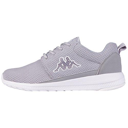 Kappa SPEED II Unisex-Erwachsene Sneakers, Grau (1410 l'grey/white), 41 EU