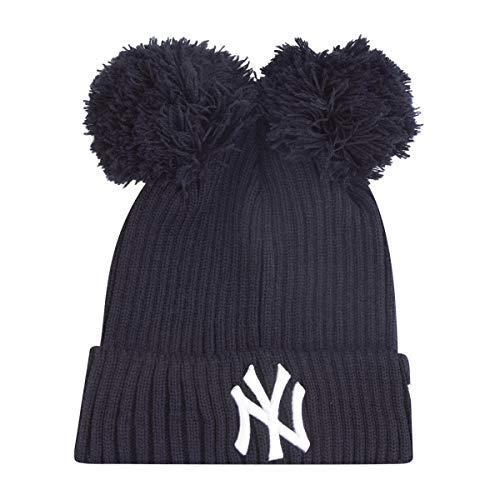 New Era Mädchen Wintermütze Double Bobble Beanie NY Yankees