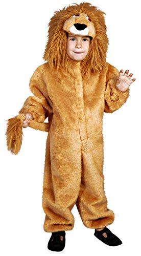 Disfraz de León para niños de 3 a 4 años