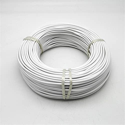 NLLeZ 1 UNID 36K 48K Cable de Calentamiento de Fibra de Carbono Infrarrojos fluoroplástica Caucho de Silicona Cálido Calefacción (Color : 100m 36K Rubber)