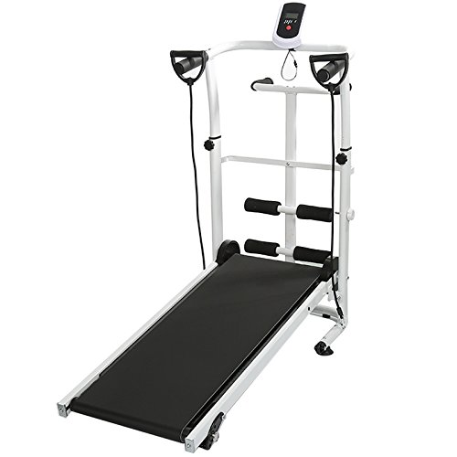JEOBEST Mini Folding Treadmill,Space Saving, Ideal for Home/Office Folding...