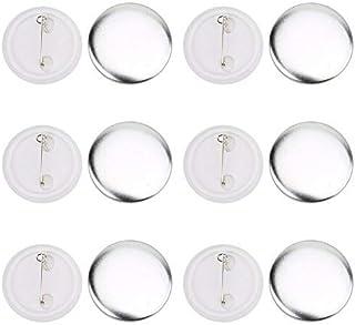 HEEPDD Moule Machine à Badges, 100 Badge 37mm Moule Badges Vierges Faisant des Fournitures pour Badge Corsage étiquettes d...