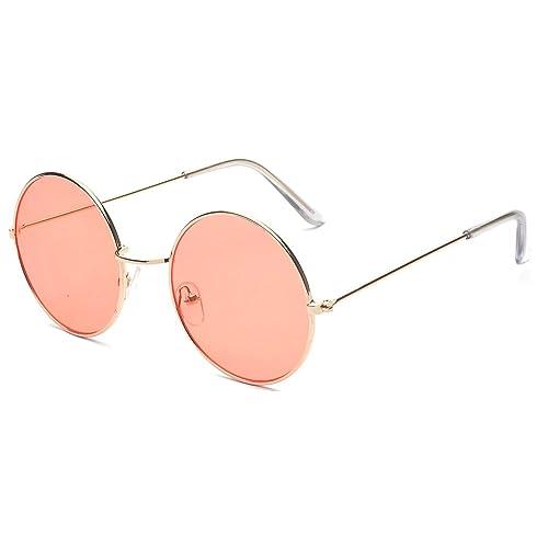 5204e06cb1013a ALWAYSUV Runde Rahmen Vintage John Lennon Sonnenbrille Brillenfassung Hippe  Brille