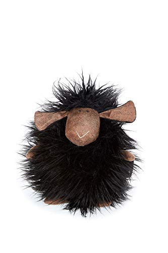 sigikid, Schaf - Black Sheepy, Beaststown, Kuscheltier für Erwachsene und Kinder, schwarz ,39170