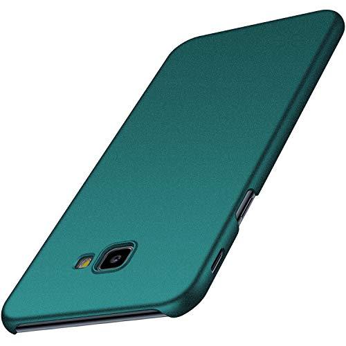 Anccer Funda para Samsung Galaxy J4 Plus [Serie Colorida] [Ultra-Delgado] [Ligera] Anti-rasguños Estuche para Galaxy J4 Plus (Grava Verde)
