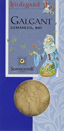 Sonnentor Galgant gemahlen Hildegard, 2er Pack (2 x 35 g) - Bio