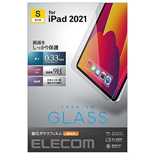 エレコム iPad mini 第6世代 (2021年モデル) ガラスフィルム 液晶保護フィルム 指紋防止 ガラス エアーレス TB-A21SFLGG