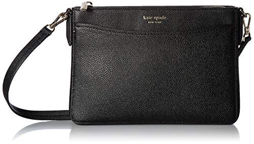 Kate Spade New York Women's Margaux Medium Convertible Crossbody Bag, Black, One Size