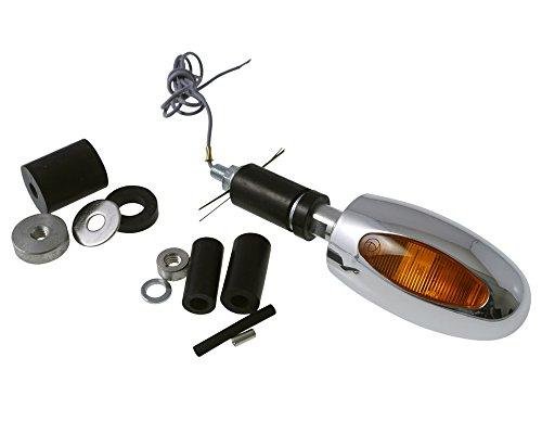 Lenkerendenblinker Kellermann BL 1000 Aluminium poliert, Motorrad
