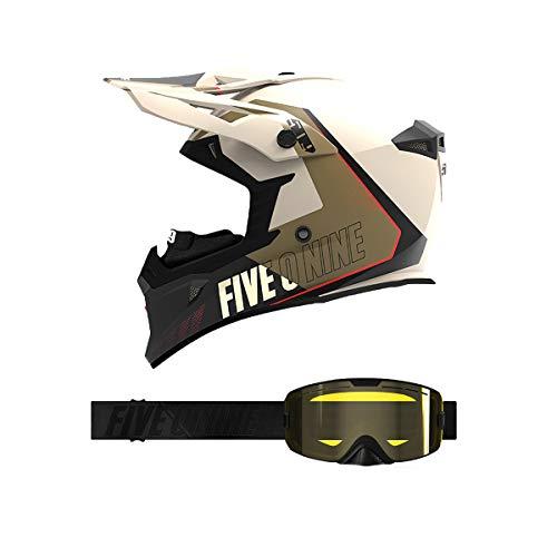 509 Tactical Helmet/Kingpin Goggle Combo - Desert (XS)