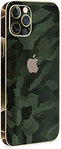 Normout iPhone 12 Pro Max Schutzfolie Rückseite Phantom Green - 2X iPhone 12 Pro Max Skin Rückseite, inklusive 2X iPhone 12 Pro Max Kameraschutz Folie - Schützt vor Kratzern & Fingerabdrücken