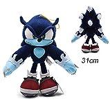 N/G Juguetes De Peluche Sonic Plush Doll Sonic Shadow Amy Rose Cotton Soft Stuffed Game Doll Toys para Niños Chris Gift para Niños 31Cm 1 Piezas