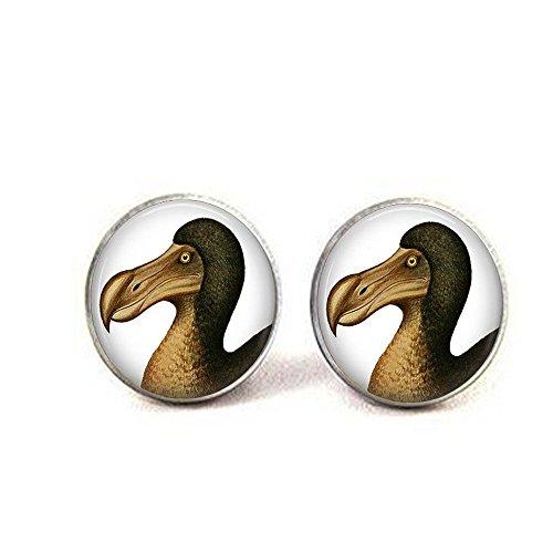 b2b DOD Bird–Dodo Jewelry–Dodo Vogel Anhänger Ohrringe