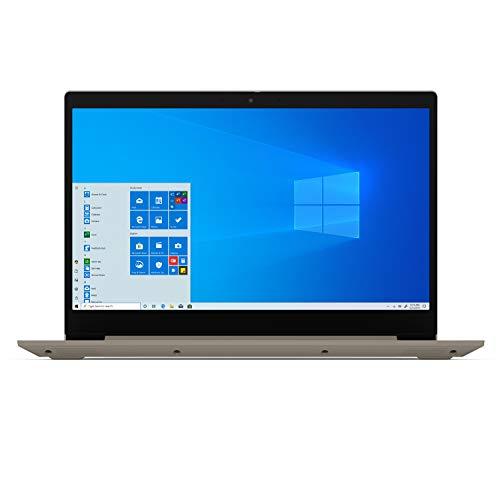 "2020 Lenovo IdeaPad 3 15.6"" HD High Performance Laptop, Intel Core i5-1035G1 Quad-Core Processor, 8GB Memory, 256GB SSD, HDMI, Webcam, Wi-FI 802.11AC, Windows 10, Almond (Google Classroom Compatible)"