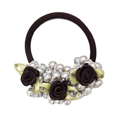 Accessoires cheveux élégants Headbands Elastics Hair Ties Anneau de cheveux Bande de cheveux #22