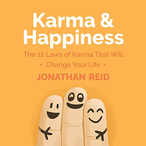 Karma & Happiness audiobook cover art