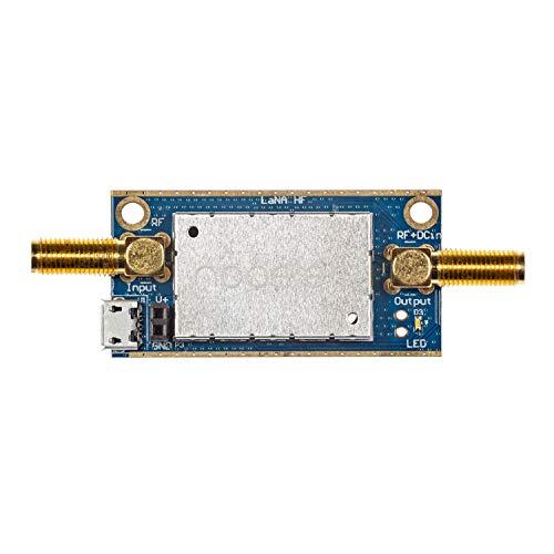 Lana HF Barebones - Módulo mplificador (LNA) LF, MF y HF de Ruido Ultrabajo para RF y Radio Definida por Software (SDR). Capacidad de Frecuencia de Banda Ancha 50kHz-150MHz con Bias tee