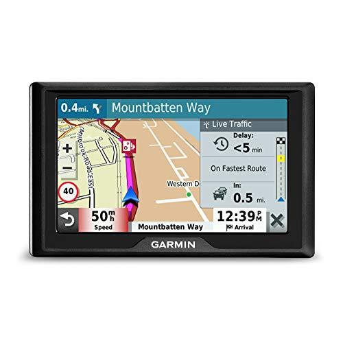 Garmin 010-02036-10 Drive 52 EU LMT-S Navigatore 5 , Mappa Europa Completa, Aggiornamento a Vita e Servizi Live via Bluetooth, Infotraffico Live via Smartphone