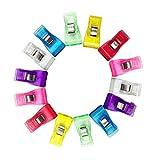 Clips De Plástico De Colores 1pc 100pcs Para Remiendo De Costura De Bricolaje Crafts Encuadernación Clip