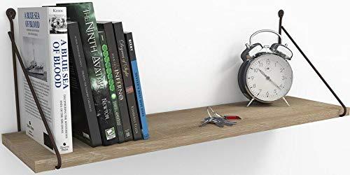 Kodiak ARMONIIï – Estantería colgante de pared industrial estantería de cocina baño estantería de madera