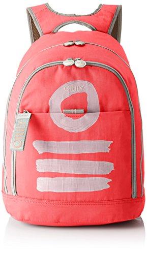 Oilily Damen Fun Nylon Backpack Lvz Rucksackhandtasche Pink (Pink)