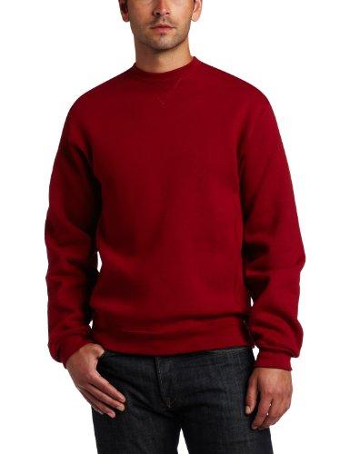 Russell Athletic Men's Dri-Power Fleece Sweatshirt, Cardinal, XX-Large