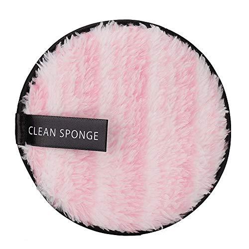 Doppelseitiger, weicher Gesichtsmake-up-Entferner aus Mikrofaser - wiederverwendbares Handtuch zur Gesichtsreinigung - für alle Hauttypen geeignet(01)