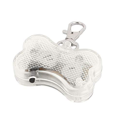Aexit Weiße LED Licht Knochenform Hund Blinker Blinkende Sicherheit Anhänger Kragen Geschenk (3d8e44dbe27be874846bebe8f148d253)