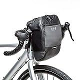fllyingu Sac De Guidon De Vélo Réfléchissant, Pochette De Rangement D'accessoires De Panier De Vélo De Cadre Avant Étanche Avec Poche Intérieure Pour Scooter De Vélo De Route De Montagne