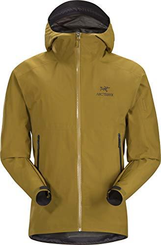 Arc'teryx Zeta SL Jacket Men's | Superlight Waterproof GORE-TEX Shell Jacket for Hiking | Yukon, Large