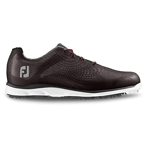 FootJoy Ladies Spikeless Empower Golf Shoes Papaya/Navy 7 Medium