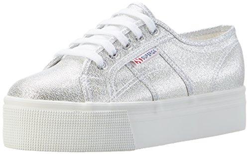 Superga Damen 2790-lamew Sneaker, Grau (Grey Silver 031), 37 EU