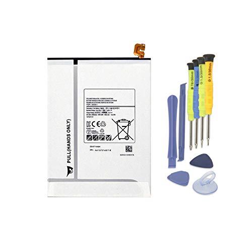 K KYUER 15.4Wh 4000mAh EB-BT710ABE EB-BT710ABA Tablet Batteria per Samsung Galaxy Tab S2 8.0' Wifi LTE-A T710 T715 T719 3G T719N SM-T710 SM-T713 SM-T715 SM-T715C SM-T719 Battery with Installation tool