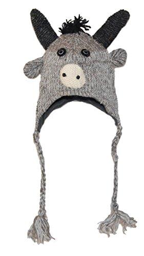 Bonnet/Chapeau Animal - Yak Adulte