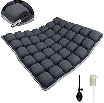Arcwares Inflatable Air or Water Seat Cushion for Office Chair