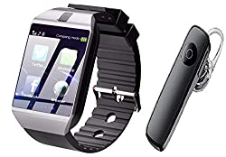 Rockwill Smart Watch A1 Bluetooth Smartwatch Compatible with All Mobile Phones for Boys and Girls (Black),Rockwill