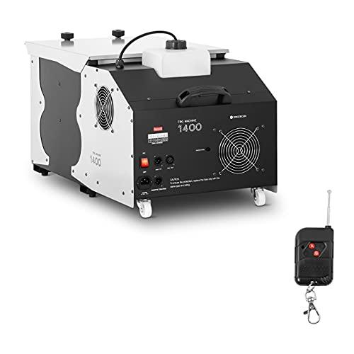 Singercon Machine À Fumée Lourde Brouillard Fumigène CON.FM-1400 (1 400 W, 566 m3/min, Ports DMX, Préchauffage En 5 Minutes, Réservoir 2,4 L)