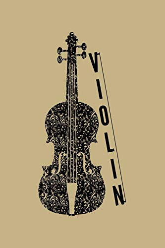 Violin: Blank Lined Journal to Write In - Ruled Writing Notebook