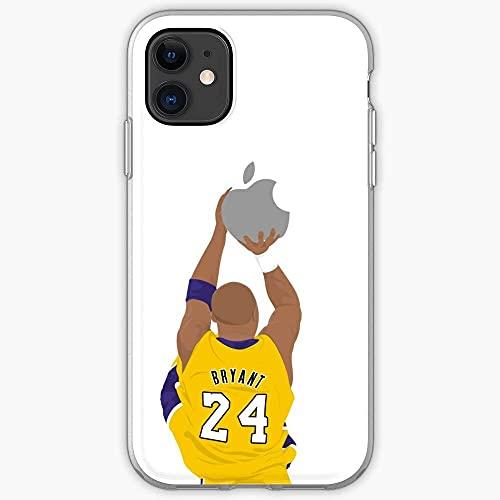 Compatibile con iPhone 12/11 PRO Max 12 Mini SE X/XS Max XR 8 7 6 6s Plus Custodie Legend Top 100 Billboard California Park Music Rapper Basketball Custodie per Telefoni Cover