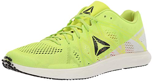 Reebok Unisex-Adult Floatride Run Fast Pro Shoe, Lime/White/neon red/Black, 10 M US